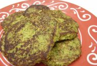 Paleo Curry Broccoli Fritters