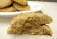 Spiced Coconut Flour Biscuits