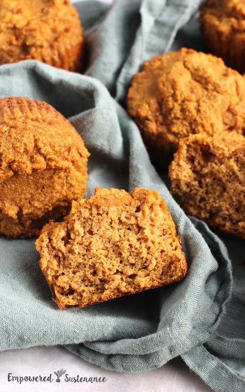 Coconut flour pumpkin muffins recipe
