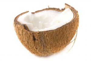 plain coconut