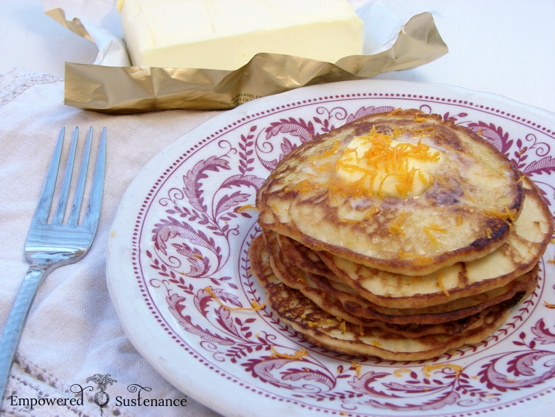 Perfect coconut flour pancakes