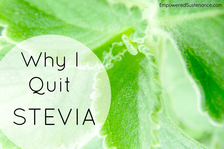 Is Stevia Safe
