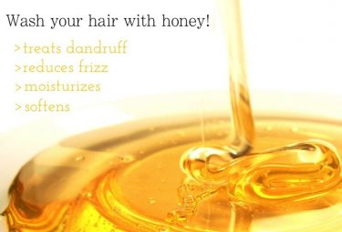 How to wash your hair with honey