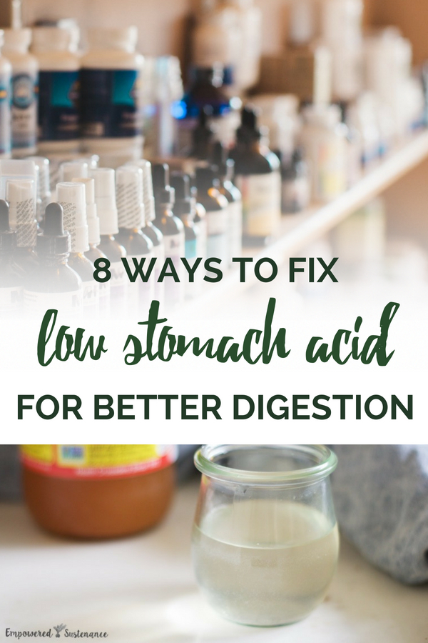 Hypochlorhydria leads to a cascade of digestive problems including bloating, leaky gut, and reflux. Heal low stomach acid naturally with these simple steps. #digestion #naturalremedies #naturalhealth #wellness #naturallifestyle