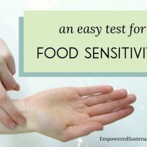 How to do an easy test to determine food sensitivities and food intolerances