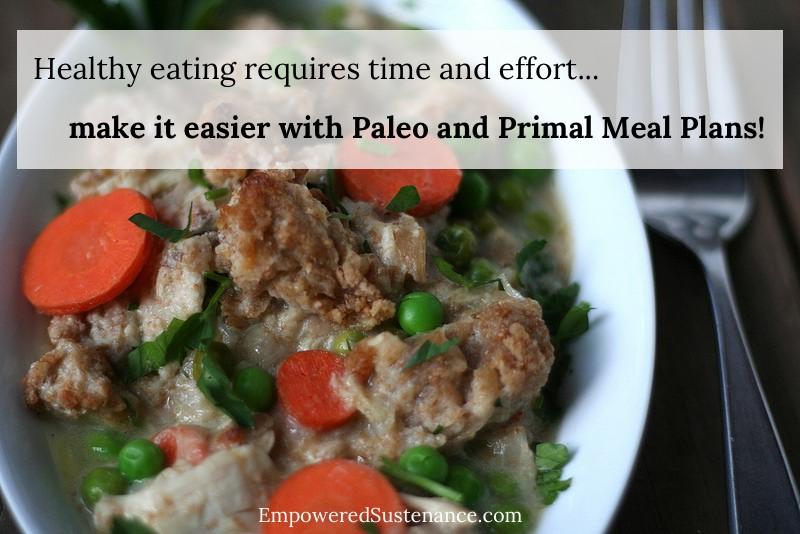 paleo:primal meal plans