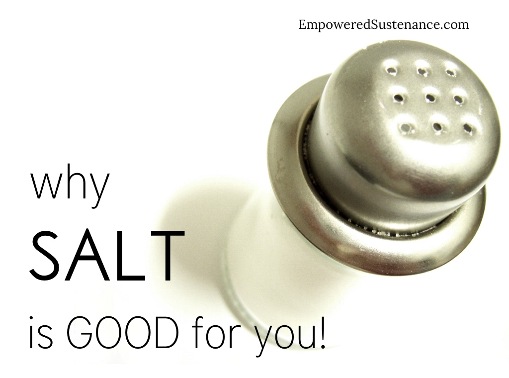 12 (scientifically supported) reasons why salt is good for you!