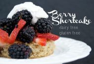 Paleo Shortcake {With Coconut Flour}