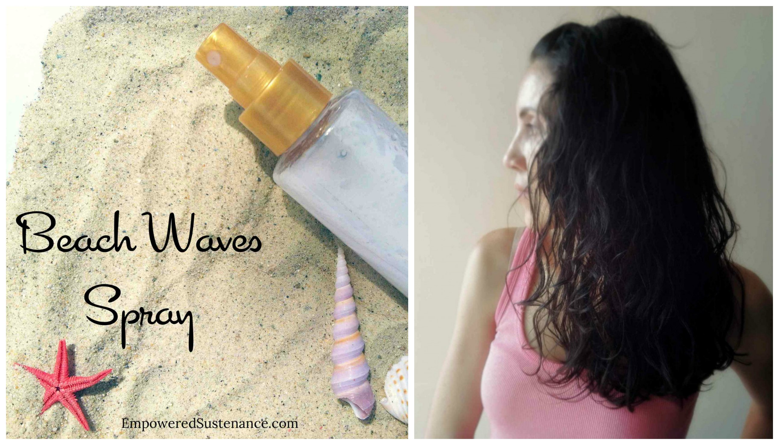 The DIY Spray for Beachy Hair That Saves Any Bad HairDay