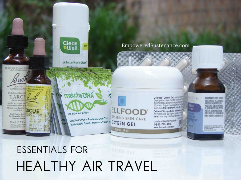 essentials for healthy air travel