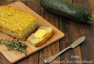 savory coconut flour zucchini bread