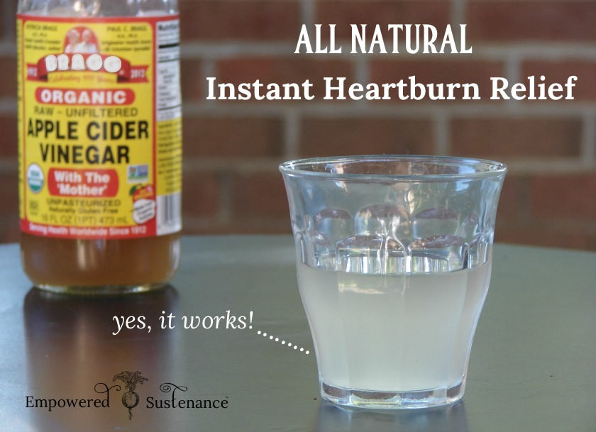 how to stop heartburn without antacids