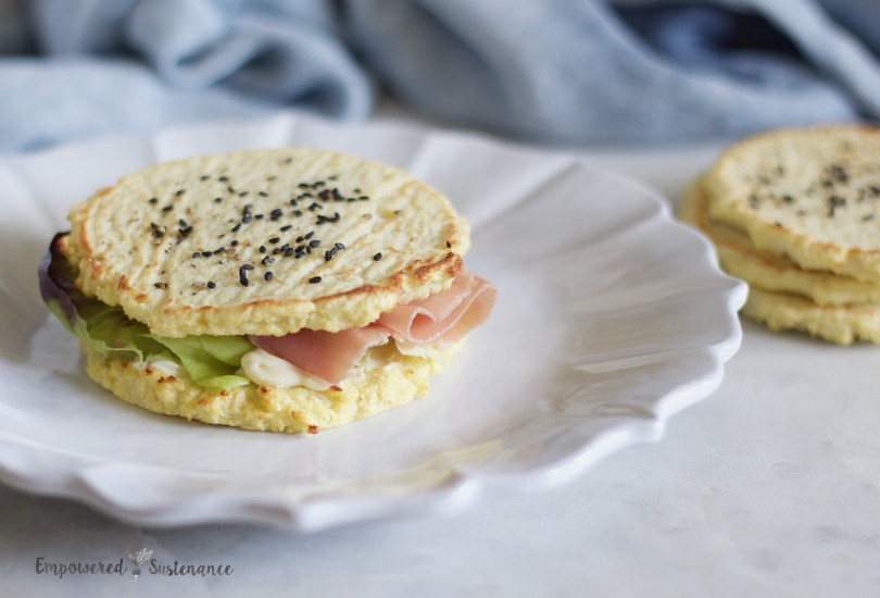 Paleo sandwich rounds