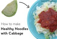 How to Make Grain Free Cabbage Noodles