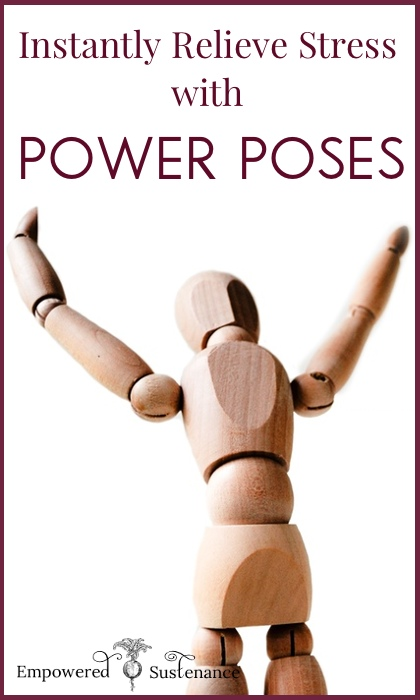 Power posing is a proven method to reduce stress hormones