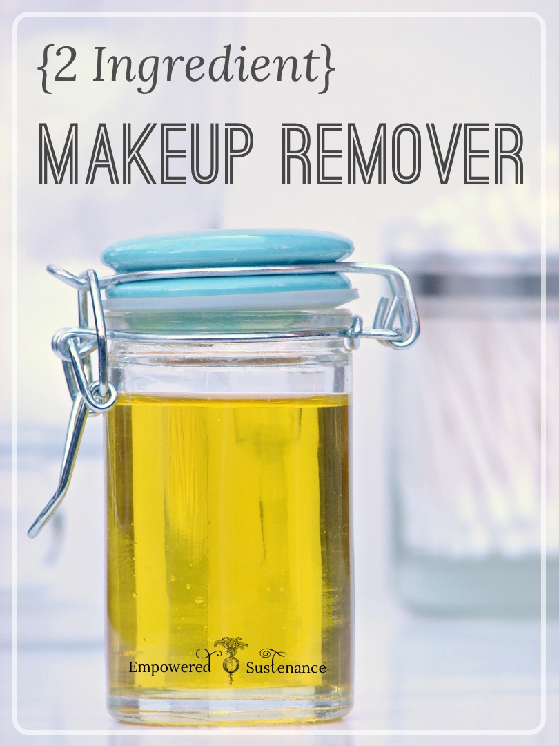 DIY Makeup Remover {Only 2 Ingredients Needed!}