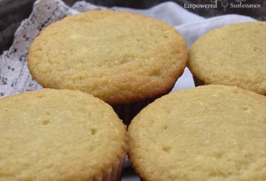 Paleo Coconut Flour Cupcakes (sweetened with honey). Only 10 minute prep!