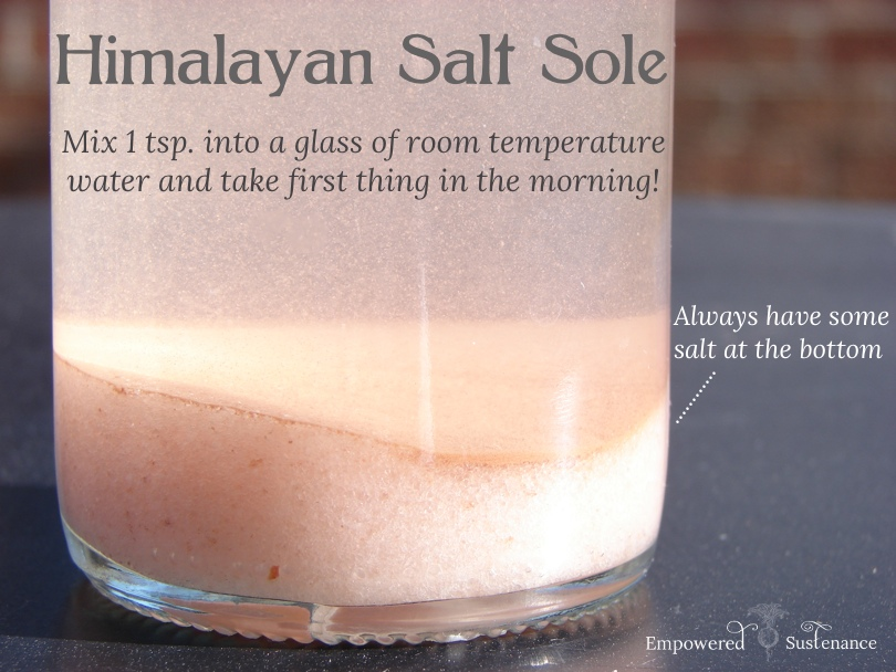 Himalayan sole, packed with all the benefits of himalayan salt