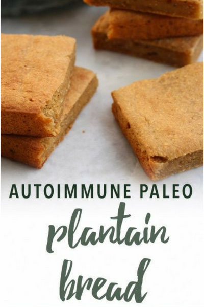 image of paleo plantain bread
