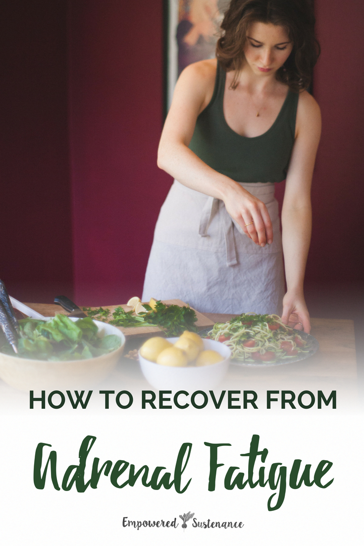 Learn the causes and symptoms of adrenal fatigue, then get the steps to adrenal fatigue recovery with these vital diet, lifestyle and supplement changes. #healthy #naturallifestyle #healthyhome #hormones #hormonebalance