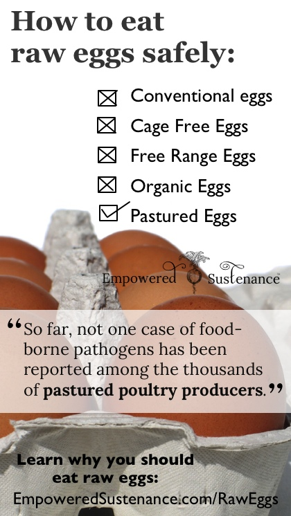 How to eat raw eggs safely (and why you should eat raw eggs!)