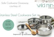Safe Cookware Giveaway: 10 Piece Stainless Steel Set!