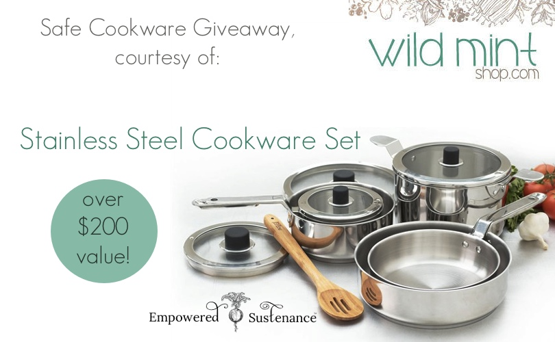 safe cookware discussion, plus a Will Mint Shop promo code