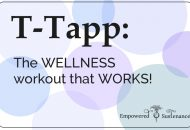 T-Tapp: For me, the ideal exercise!