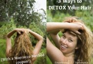 3 Ways to Detox Your Hair + a Morrocco Method coupon!