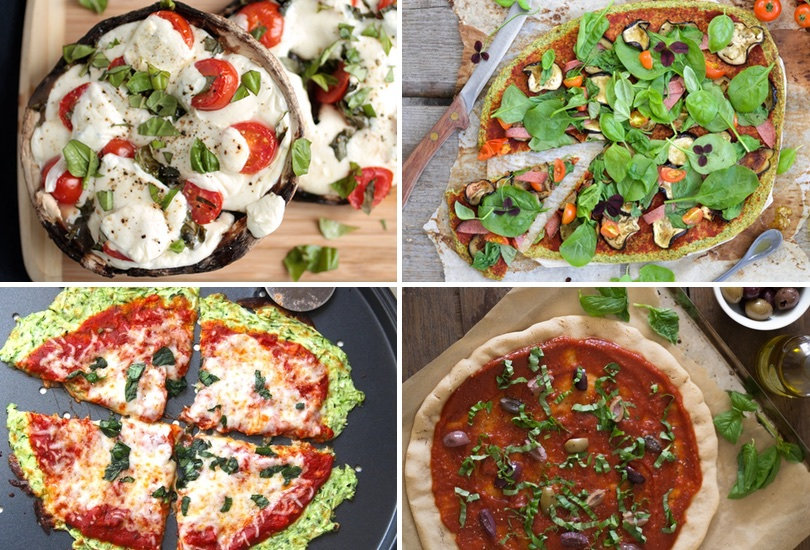 Paleo pizza crusts |Flourless pizza crust recipes