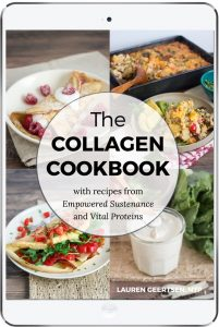 collagen cookbook