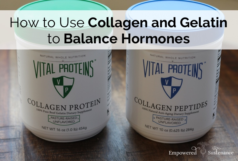 collagen hydrolysate can help balance hormones