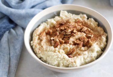 Paleo Oatmeal Recipe | No-Oatmeal