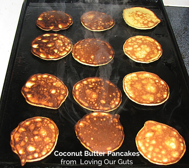 coconut butter pancakes
