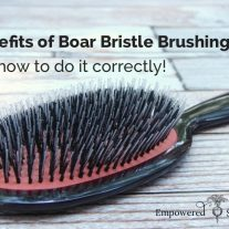 boar bristle brushing benefits