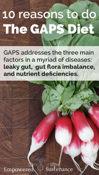 10 reasons to do the GAPS Diet
