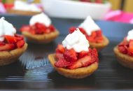 Paleo Strawberry Shortcake Bites (Nut/Egg Free)