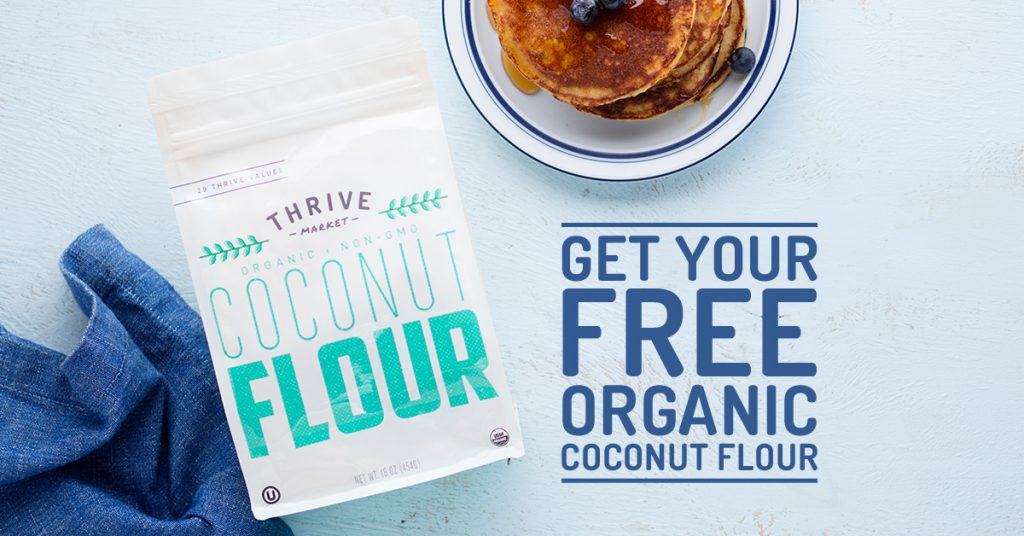 thrive coconut flour
