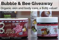 Bubble & Bee Skincare Giveaway – a $185 value!