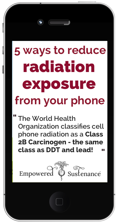 How to reduce cell phone radiation exposure