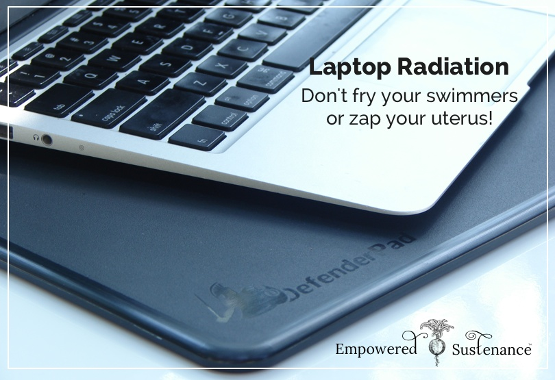 how to avoid laptop radiation