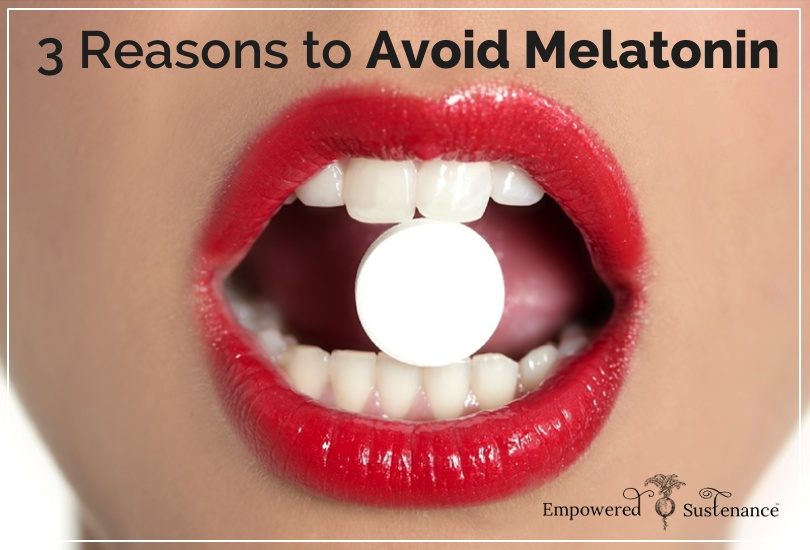 Why melatonin is bad for you + better alternatives