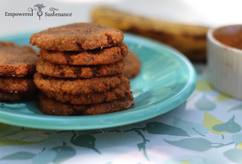 Chewy Banana Spice Cookies (autoimmune paleo)