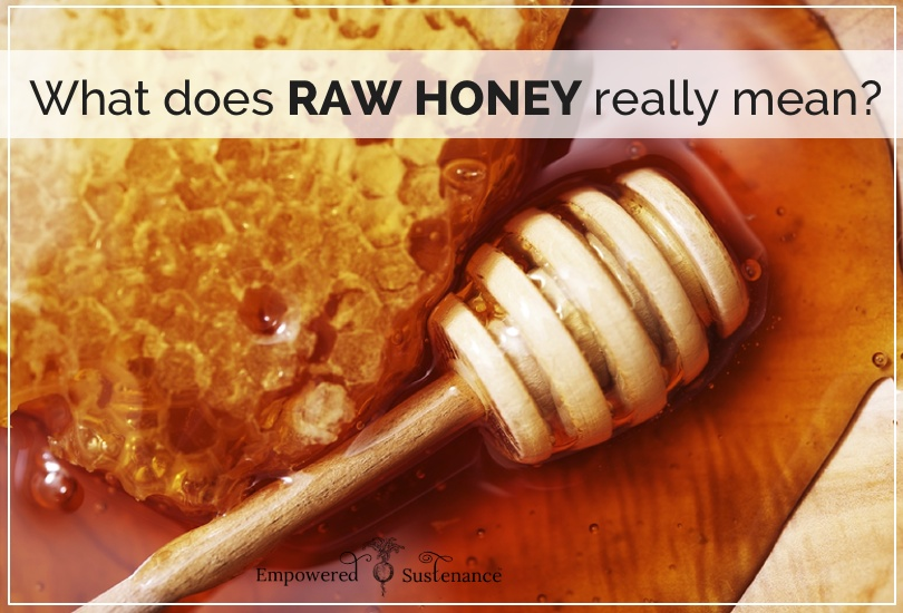 raw honey definition
