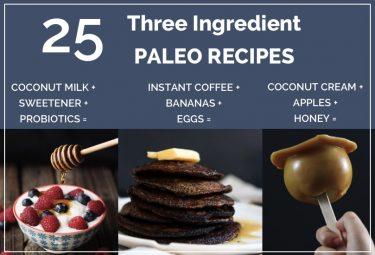 25 brilliant three ingredient paleo recipes