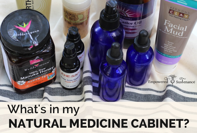 how to stock a natural medicine cabinet!