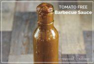 Tomato Free Barbecue Sauce