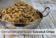 Cinnamon and Sugar Coconut Chips Recipe