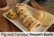 Fig and Coconut Dessert Sushi (Autoimmune Paleo)