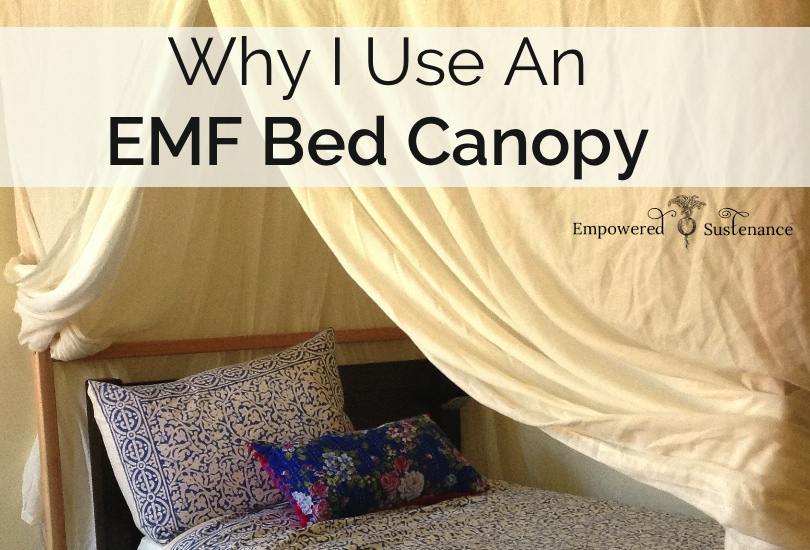Why I Use an EMF Bed Canopy